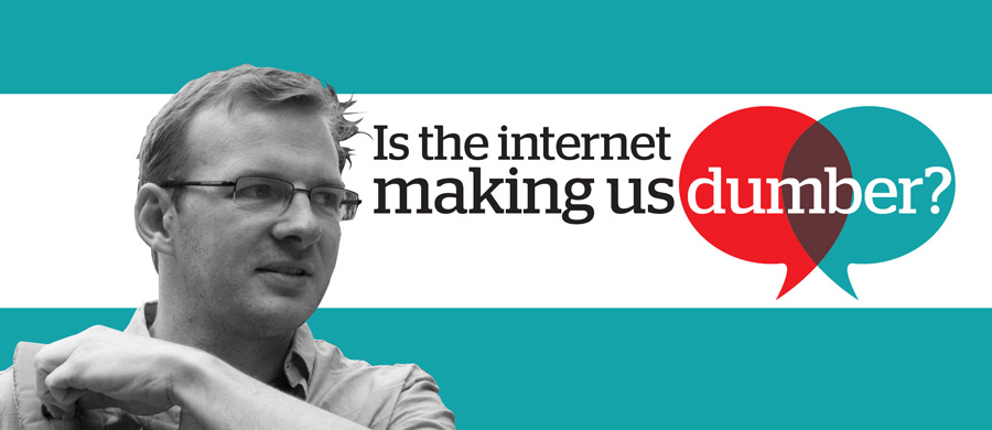 is the internet making us dumber Does the internet make you smart or stupid, thoughtful or forgetful  internet potentially making us all dumber in  internet were making us.